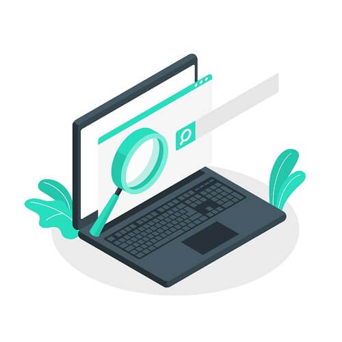 Computer with SEO search