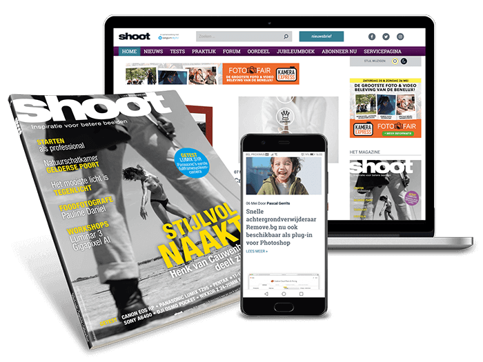Shoot magazine online en print