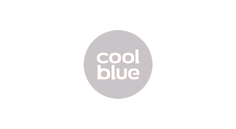 Coolblue logo homepage blue pixl media