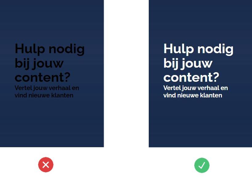 UI design fout 3
